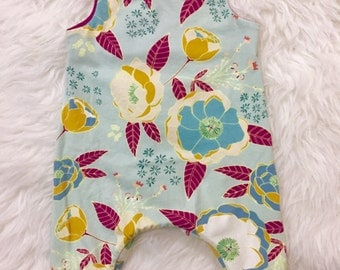 Baby girl romper available in sizes preemie to 24 months