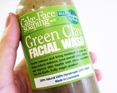Green Clay Facial Wash for dry skin and rosacea