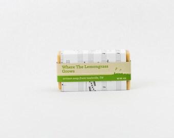 Where the Lemongrass Grows - essential oil vegan soap