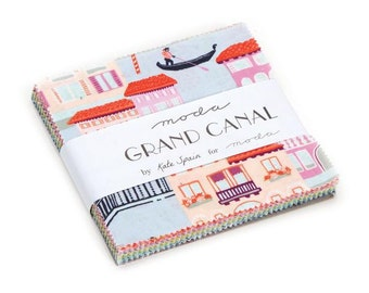 Grand Canal by Kate Spain - Charm Pack (27255PP) - Moda