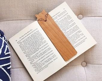 Wood Fox Bookmark