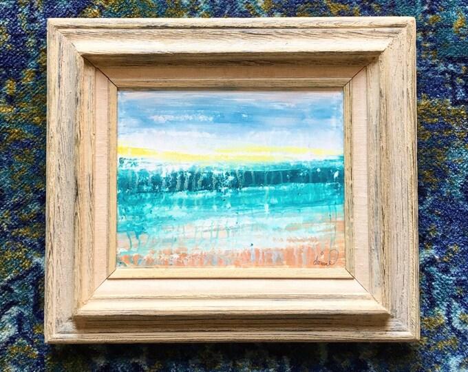 "My Walk - Original Painting 8"" x 10"" Abstract"