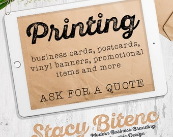 Printing Service, Custom Business Cards, Bowcards, Vinyl banner, Promotional products, 500 business cards, Labels, Stickers, Printing