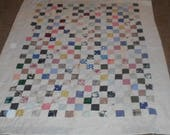 Cutter Quilt - Quilt Scraps - Sewing Project - FREE SHIPPING!  RESERVE for Carla