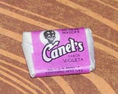 Old Piece of Canels Gum Old Black Americana Wrapper Purple Reserved for vladislavb01