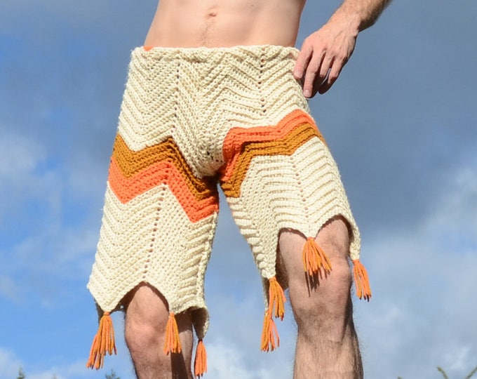 Crochet Board Shorts and Fringe