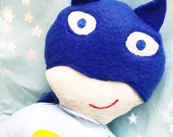 Batman plush soft action figure doll shop small Saturday sale!