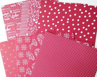 Stampin' Up  6 x 6 double-sided DSP Designer Series Paper Sending Love Sampler
