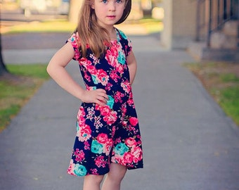 Deer Creek Tunic and Dress pattern for Girls