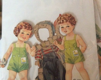 Peggy and Peter Paper Dolls
