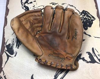 Vintage Mickey Mantle Glove Rawlings MM9 Triple Crown Winner 1960s-Yankee Stadium-HOF Baseball Glove