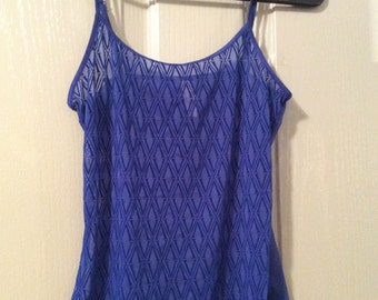 Lace Camisole/sheer/Victoria's Secret NWOT small tank top blouse