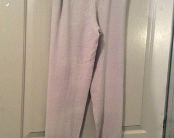 Tse 100% cashmere pants large with drawstring htf!  Side pockets/flaw see details