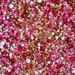 SWEETHEART Twinkle Sprinkle Medley, Valentine's, Pink and Gold, Canadian Sprinkles