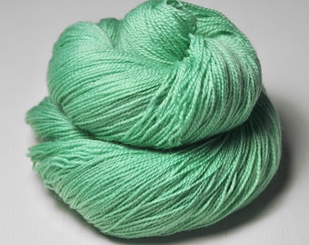 Green sea - Merino/BabyCamel Lace Yarn - LIMITED EDITION
