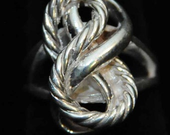 The Rope Knot Ring