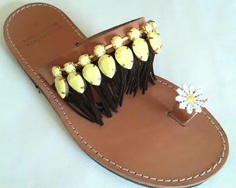 SALE SANDALS 38 Greek sandals