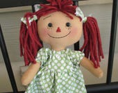 Mini RED haired raggedy