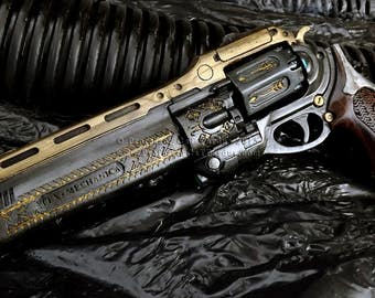 Destiny Exotic Handcannon The Last Word life size finished replica.