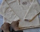 PRESALE --Monogram Sherpa Pullover -November shipping