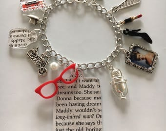 Almost Exactly Like Laura Palmer Charm Bracelet. Inspired by Twin Peaks, Madeline Ferguson, with Secret Diary charms.