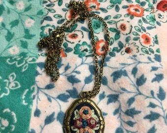 Quad Posy Boquet Necklace