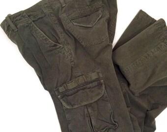Sanctuary Army Green Fatigue Cargo Pant