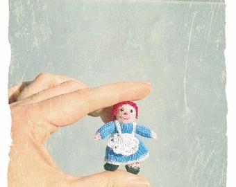 Dollshouse Miniature Raggedy Anne