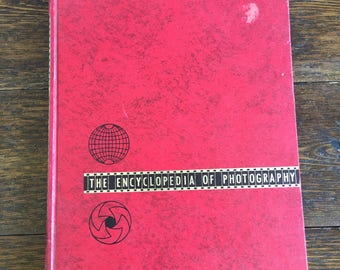 1970 The Encyclopedia of Photography / black and white volume 1 / Vintage