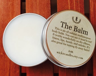 Chardonnay Scented All Natural Multipurpose Body Balm Salve