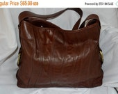 ON SALE Vintage Leather Handbag~Kenneth Cole~ Made in the USA~ Excellent Condition~