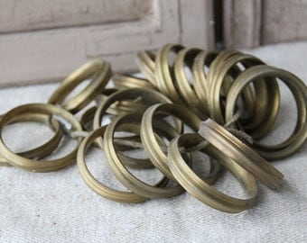 Curtains Ideas curtain rings brass : Vintage curtain ring – Etsy
