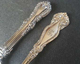 Anchor Rogers Silverplate 1899 Raleigh / Newton Serving Spoon With Knife