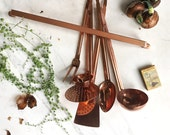Bronze bamboo Serving Cutlery