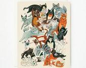 Cat Pile 1pc