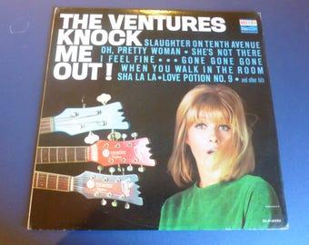 The Ventures Knock Me Out! Vinyl Record LP BLP-2033 Dolton Records