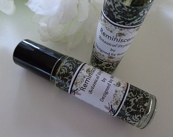 Remininscent Perfume, Absolute Roll on Perfume, Natural Perfumes, Gift Perfumes, Stocking Stuffers