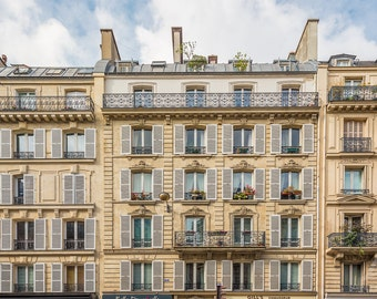 Paris Apartments - 8x10 Fine Art Print