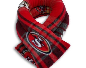 50% OFF San Francisco 49ers NFL Microwave Heating Neck Wrap, Rice, ExtraLong 26x5,Heating Pad, Spot Clean