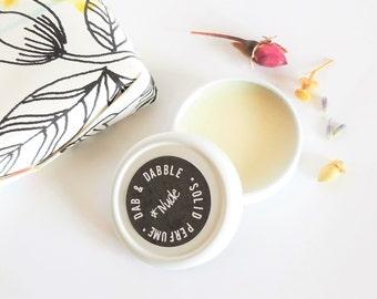 Solid Perfume Tin