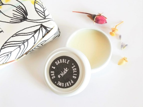 Solid Perfume | Natural Perfume | Solid Fragrance | Gift for Her | Coworker Gift