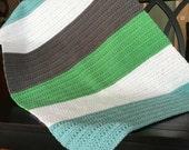 Daisy Cottage Designs Crochet Baby Blanket Pattern, Crochet Blanket Pattern, Easy Crochet Pattern