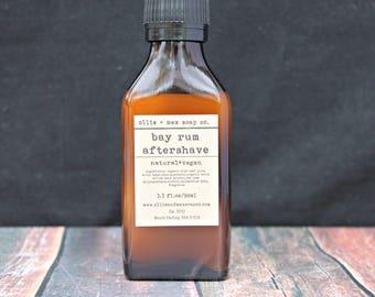 Bay Rum After Shave for Men, Organic, Vegan, Cologne for Men