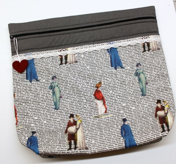 MORE2LUV Jane Austen Stitch Embroidery Project Bag