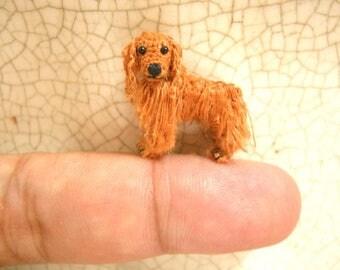 Cocker Spaniel - Miniature Crochet Dog Stuffed Animals - Made To Order