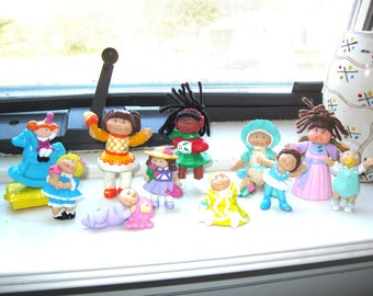 Vintage Cabbage Patch Kid Miniature PVC and McDonald Happy Meal Toys