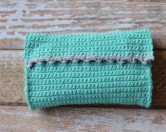 Everia Picot Clutch Crochet PATTERN PDF DOWNLOAD