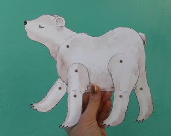 The White Bear - Paper Doll