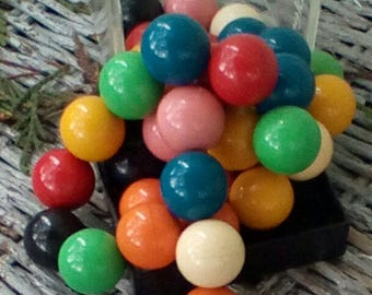Geo Space Magnetic Marbles.  Arts, Crafts, Steam Punk.   Made in USA.  Y-193