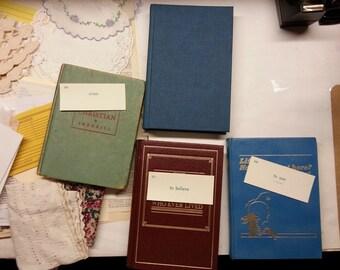 vintage prayer journaling kit | vintage religious theme junk journaling supplies | junk journal embellishments | vintage embellishments book